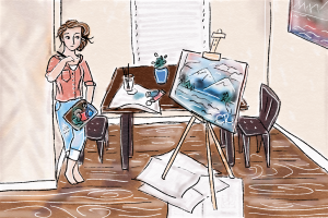 This Artist's Life | Painting some Perspective