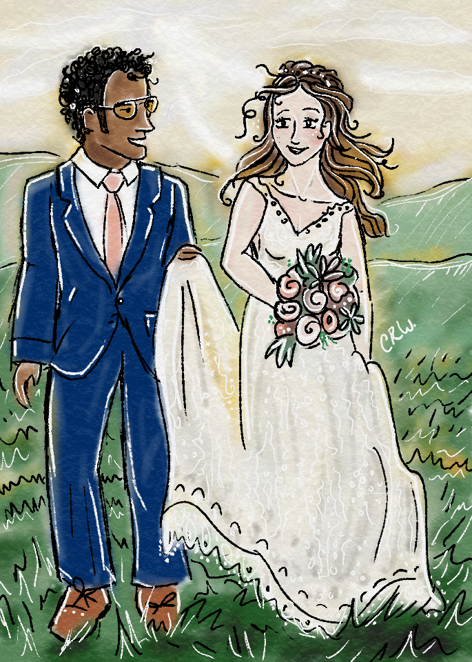 A covid-19 Wedding Day | Charity Rissler Wottrich | This Artist's Life